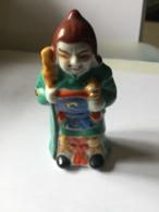 Figurine FAIENCE Chinoise - Arte Asiático
