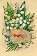 Muguet Porte Bonheur, Paysage Au Printemps, Découpi - Flowers