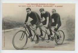 Les Vieilles Gloires Du Cycle  Ont Toutes Monte Le Pneu Dunlop Le Premier Louvet Wheeler Cottereau - Cyclisme