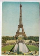 PARIS, La Tour Eiffel Tower, 1961 Used Postcard [23614] - Tour Eiffel