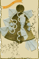 Cloche De Pâques Avec Rubans, Couple, Découpi - Easter
