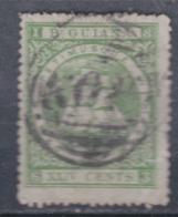 Guyana N° 31 O Armoiries 24 C.vert Oblitération Moyenne,  Sinon TB - British Guiana (...-1966)