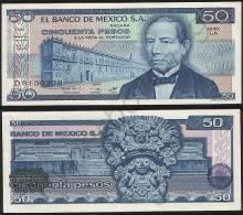 Mexico P 73 - 50 Pesos 27.1.1981 - UNC - Messico