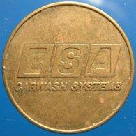 TA 022-1  ESA - Waddinxveen Netherlands - Auto Wasserette Car Wash Machine Token Clean Park Auto Wasch Waschpark - Firma's