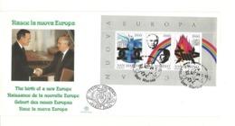 1991 - San Marino BF 45 Nuova Europa     FDC - FDC