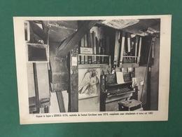Cartolina Organo In Legno A Gerola Alta - Di Curtoni Gerolamo  - 1930 Ca. - Postcards
