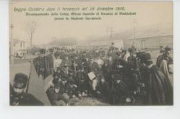 ITALIE - Reggio Calabria Dopo Il Terremoto Del 28 Dicembre 1908 - Accampamento Della Camp. Allievi Guardie Di Finanza .. - Reggio Calabria