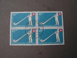 CH 4Blöckli 1951 - Used Stamps