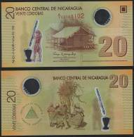 Nicaragua P 202 - 20 Cordobas 2009 POLYMER - UNC - Nicaragua