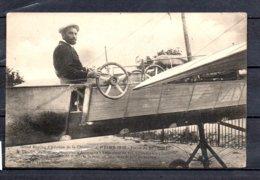 """Grand Meeting D'Aviation - Reims 1910 - Plaine De Bétheny - Mr Charles Wachter Sur Monoplan """" Antoinette """" - Aviateurs"""