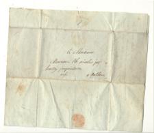 Lettre Précurseur - De Liège Pour Mr. Hardy De DALHEM 1824 - Manuscrits