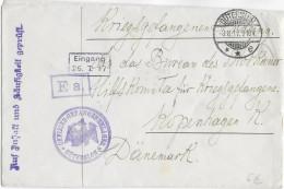 1917 - PRISONNIERS De GUERRE RUSSES - KRIEGSGEFANGENEN - ENVELOPPE Du OFFLAG De GÜTERSLOH => MOSKAUER HILFSKOMITEE - Covers & Documents