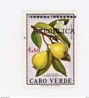 Cap Vert-Cabo Verde-1976-Fruit-Timbre Surchargé***MNH - Kap Verde