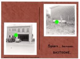 BASTOGNE Vers 1955 Construction Du Commerce SPIERS ( Bananes  ? ) - Lieux