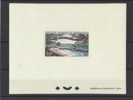 NOUVELLE-CALEDONIE.  YT   Epeuve De Luxe PA N° 75  Neuf **  1964 - Geschnitten, Drukprobe Und Abarten
