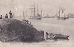 [29] Finistère > Concarneau Les Grandes Roches Du Passage Lauriec Et Le Port - Concarneau