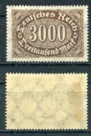 D. Reich Michel-Nr. 254b Ungebraucht - Geprüft - Ungebraucht