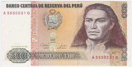 Peru P 134 B - 500 Intis 26.6.1987 - UNC - Peru