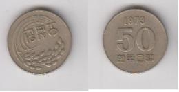 COREE DU SUD - 50 WON 1973 - Korea, South