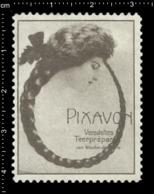 Old Poster Stamp Cinderella Reklamemarke Erinnofili Vignette Pixavon Seife Soap. - Cinderellas