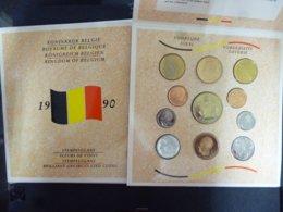 BELGIE FDC SET 1990 SLAG BIJ WATERLOO - FDC
