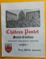 11814 - Château Pontet Saint-Emilion - Bordeaux