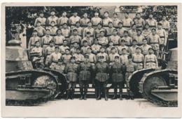 Carte Photo - 505° R.C.C. - Régiment Chars De Combat - Reggimenti