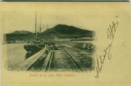 SPAIN - PUERTO DE LA LUZ - GRAN CANARIA - EDIT A. GERBER EN LUIS - 1900s  (BG4480) - Gran Canaria