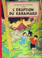 """AVENTURES De JO, ZETTE ET JOCKO - Le Rayon Du Mystére 2éme Episode """" L'ERUPTION DU KARAMAKO """" Par HERGE /1957 - Hergé"""