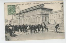 ITALIE - TOSCANA - Saluti Da LIVORNO - Il Mercato (défilé Militaire ) - Livorno