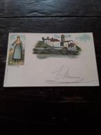 Cartolina Postale Illustrata 1899, Valmaggia - Vercelli