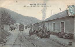 07 ARDECHE Superbe Plan Des Trains Tramways à L'Intérieur De La Gare Du CHEYLARD - Le Cheylard
