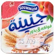 "Opercule Cover Yaourt Yogurt "" Soummam "" J'NINA - Fruits & Grains - Yoghourt Yahourt Yogourt - Milk Tops (Milk Lids)"