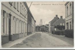 ZELZATE Selzaete - Selzaet - De Statiestraat - Rue De La Station - 1908 (station Achteraan) - Zelzate