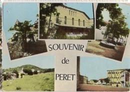 34 Hérault PERET Vue Multiples - Cp N° 9 049 - France