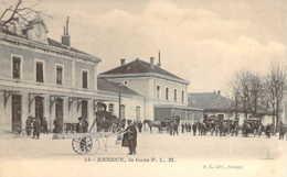 74 Haute SAVOIE Les Calèches à L'extérieur De La Gare PLM D'ANNECY - Annecy