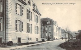 68 Haut RHIN Centre Chirurgical Hasenrain De MULHOUSE Mülhausen Occupation Allemande - Mulhouse