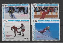 Thème Sports D'Hiver - Mauritanie - Timbres Neufs ** Sans Charnière - TB - Winter (Other)