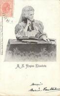 Roumanie Regina Elisabeta  Voyagée En 1900 - Roumanie