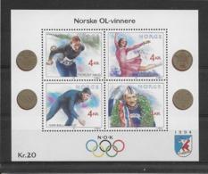 Thème Sports D'Hiver - Norvège - Timbres Neufs ** Sans Charnière - TB - Winter (Other)