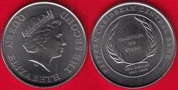 "Eastern Caribbean States 1 Dollar 2008 Km#58 ""Central Bank"" UNC - Caraibi Orientali (Stati Dei)"