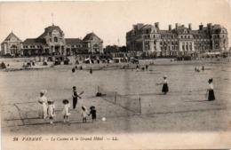 Paramé - Le Casino & Le Grand Hôtel - édit LL - Tennis De Plage - Parame
