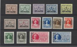 VATICAN.  YT Colis Postaux  N° 1/15  Neuf *  1931 - Colis Postaux