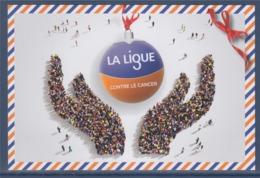 = La Ligue Contre Le Cancer Campagne 2019, Verso Blanc - Salute