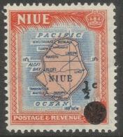 Niue. 1967 Decimal O\P. ½c MH. SG 125 - Niue