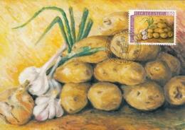 LIECHTENSTEIN Maximum Card 906 - Vegetables