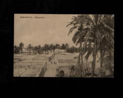 Cartolina Posta Militare VII Divisione - Misurata Panorama - Militari