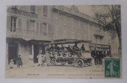 04 Barcelonnette - Place Manuel - Départ De L'auto - Beau Plan - Barcelonnette