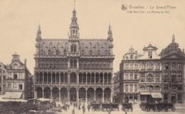 AN46 Bruxelles, La Grand Place, Cote Nord Est, La Maison Du Roi - Animated - Piazze
