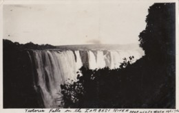 AN46 Victoria Falls On The Zambesi River - RPPC - Zimbabwe